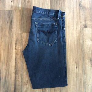 Sz 29 Goldsign Misfit Dark Wash Skinny Jeans 1191